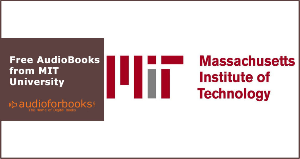 Free AudioBooks from MIT
