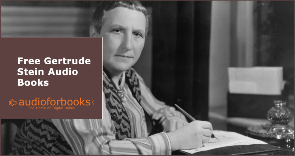 Free Gertrude Stein audio books