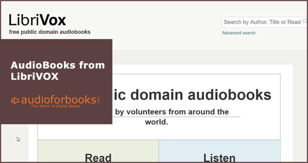Free LibriVOX from Audiobooks