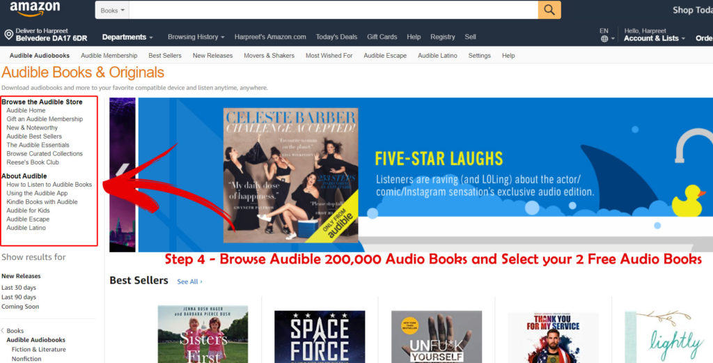 Audible Audio Books Collection