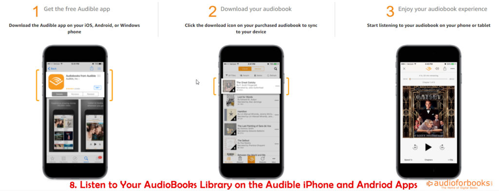 AudioBooks on Audible Apps