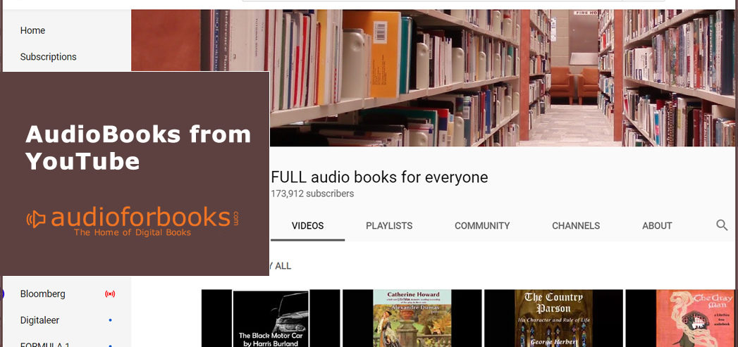 Audiobook from Youtube